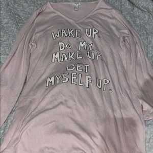 A forever 21 today list shirt